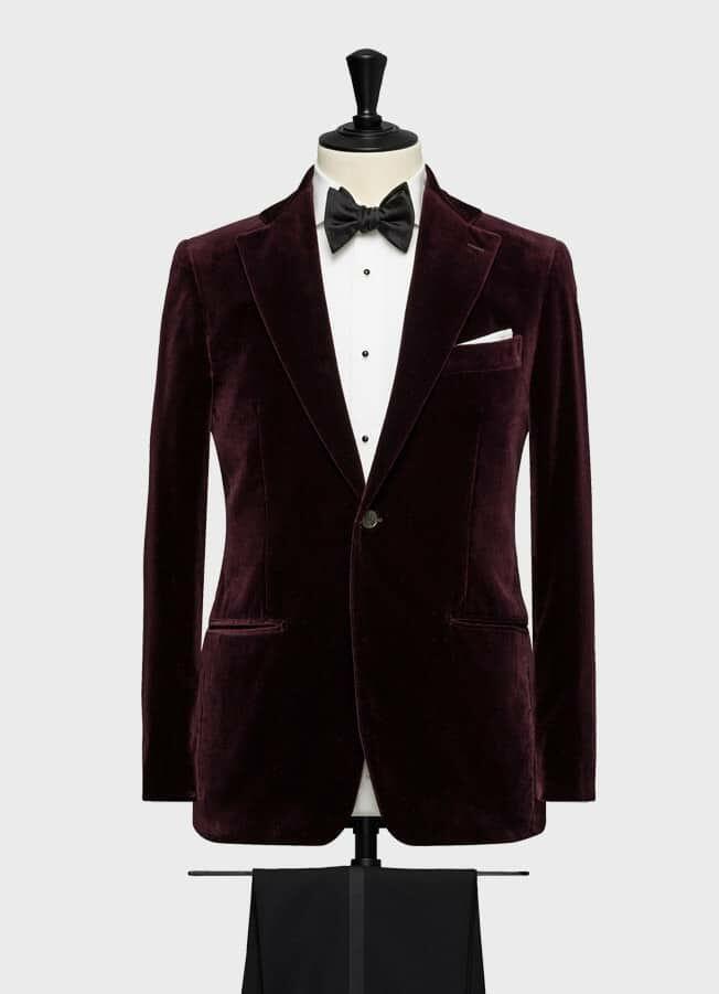 Вечерний бархатный пиджак