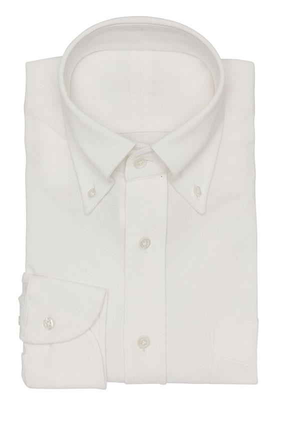 Сорочка поло белая