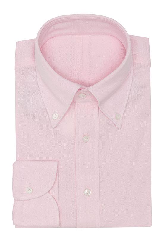 Бледно-розовое поло