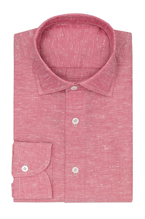 Сорочка розовая оксфорд