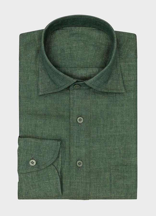 Сорочка зеленая