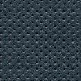 Темно-синие кеды из перфорированной кожи
