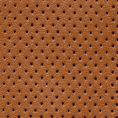Светло-коричневые кеды из перфорированной кожи