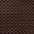 Слипоны темно-коричневые из перфорированной кожи