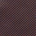 Коричнево-синий галстук из плетеного шелка