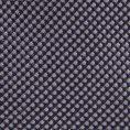 Серо-синий галстук из плетеного шелка