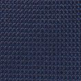 Темно-синий галстук из плетеного шелка
