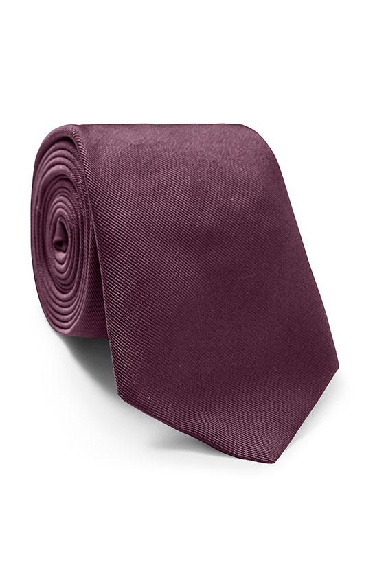 Темно-фиолетовый галстук