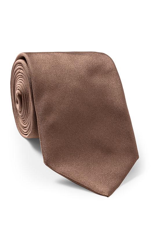 Коричневый галстук
