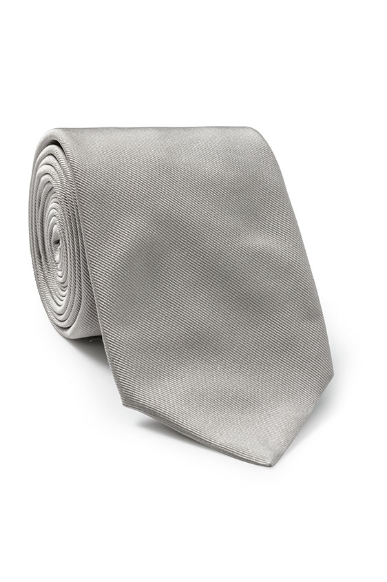 Светло-серый галстук