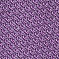 Светло-фиолетовый галстук плетеной фактуры