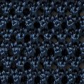 Синий галстук вязаной фактуры