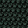 Зеленый галстук вязаной фактуры