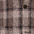Темно-серый пиджак в клетку гленчек