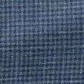 Темно-синий пиджак в гусиную лапку