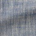 Голубой пиджак в елочку