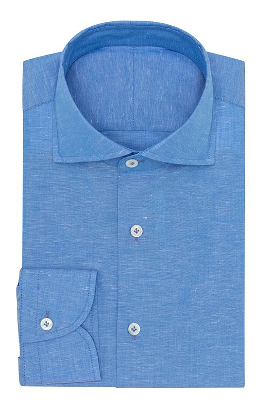 Ярко-синяя сорочка