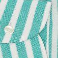 Мятная сорочка в белую полоску