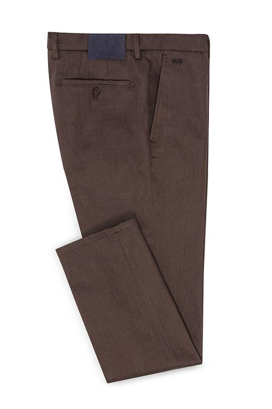 Брюки чинос коричневого цвета