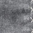 Серый нагрудный платок с серой окантовкой