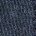 Синий нагрудный платок с чёрной окантовкой