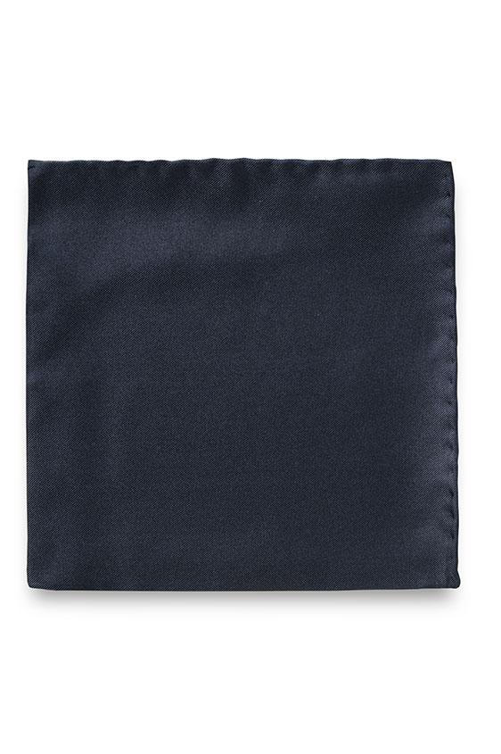 Темно-синий нагрудный платок