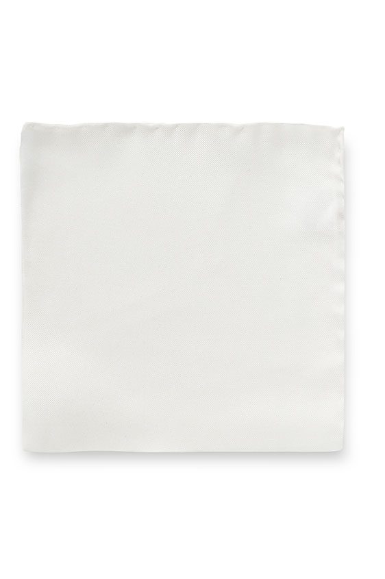 Белый нагрудный платок