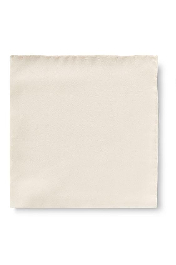 Нагрудный платок молочного цвета