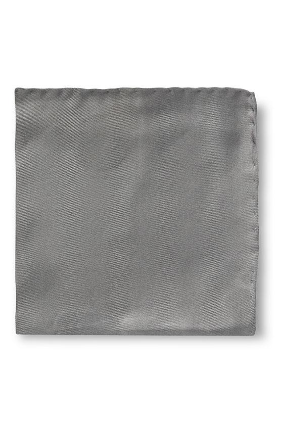 Тёмно-серый нагрудный платок
