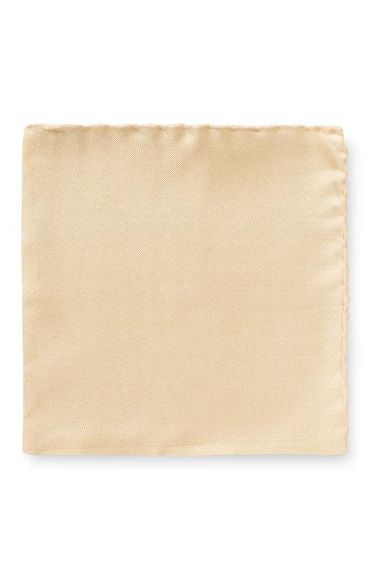 Светло-жёлтый нагрудный платок