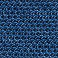 Синий нагрудный платок плетеной фактуры