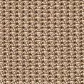 Бежевый нагрудный платок плетеной фактуры