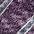 Фиолетовый галстук в полоску