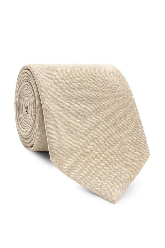 Светло-бежевый галстук
