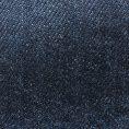 Джинсы синего цвета из стираного денима