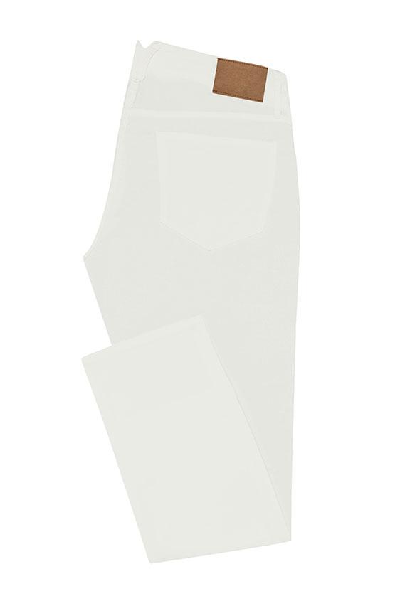 Брюки чинос белого цвета