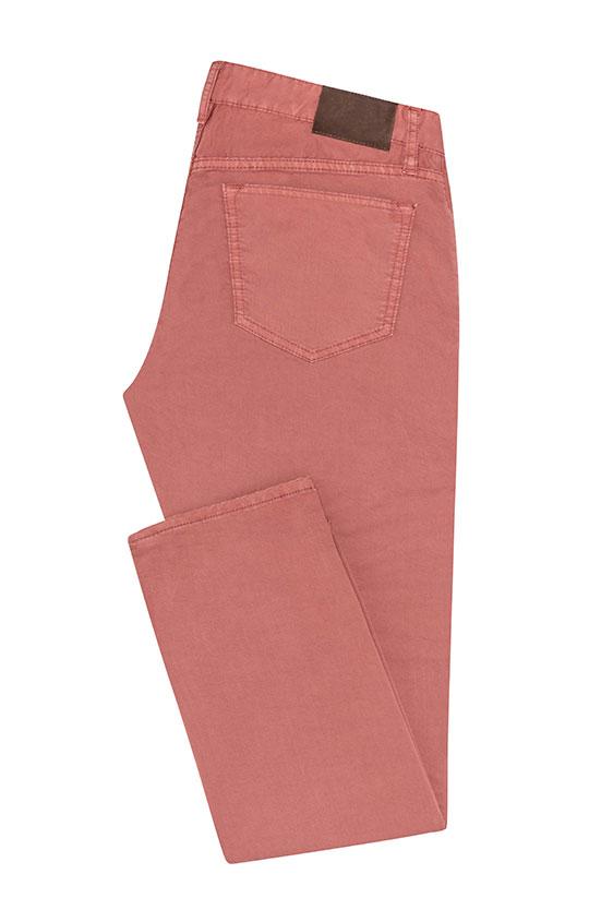 Брюки чинос розового цвета