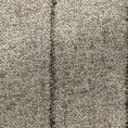 Светло-коричневый костюм в полоску