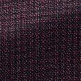 Темно-фиолетовый пиджак из шерсти и шёлка