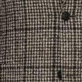 Коричневый пиджак в крупную клетку