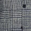 """Черно-белый пиджак в клетку """"Гленчек"""""""