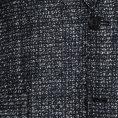 Черно-белый пиджак в мелкую клетку
